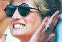 Diana a královská rodina