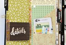 Scrapbooking - Minis and Traveler's Notebooks