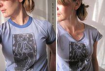 t-shirt make -over / by Bieneke Kroonenberg