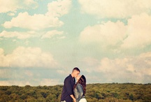 cowboy couple pose