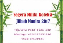 Katalog Jilbab Munira terbaru 2017 / Katalog Jilbab Munira terbaru 2017 Telp/SMS: 0812-3831-280 Whatsapp: +628123831280 PinBB: 5F03DE1D