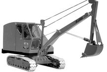 Schield's Bantam excavator / The C-35 Bantam was an extremely popular excavator model and thousands were sold. It was simple and easy to maintain.
