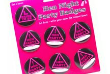 Hens Party Badges