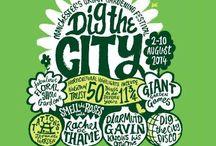 Dig The City, Manchester / Manchester's Urban Garden Festival. August 2 - 10 2014