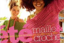 Júlia Maria ROCCO / Croche colete,blusas,saias, sapatos,e toalhas