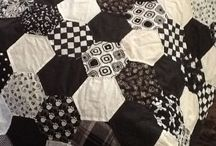 Half Hexagon Quilt ideas for MSQC template / by Ellie Guhl