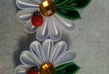 Kanzashi / Kanzashi how-to's and inspiration
