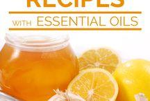 Rezepte mit ätherischen Ölen