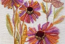 Embroidery-Silk Ribbon / by Gail Maybee