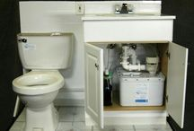 Grey Water Recycling / Re-use your grey water from showers and bathroom for flushing loos and garden irrigation. Good for energy efficient, environmentally friendly, sustainable living.