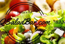 Q - Our Ads / Advertisements of Q Salad Bar