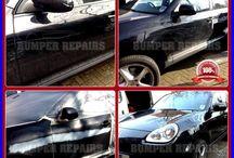 Porsche Cayenne Repair London / We repair Porsche Cayenne paint scratch, bodywork dent and alloy wheel scratch damage in London, Surrey, Hertfordshire, Essex & Kent