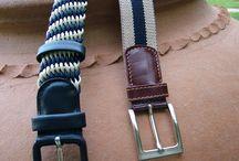 CINTURONES ALSINA / Cinturones piel, lona y trenzados