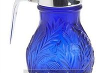 Colbalt Blue  Glass(2) / by Paule Sullivan