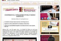 Ciudad y democracia / http://www.cyd.org.mx/ Diseño y armado base en HTML, para fácil implementación.