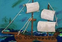 kuvis meri ja  laivat