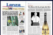 El Diario Lanza recomienda Vin Doré 24k / El Diario LANZA recomienda VIN DORÉ 24K.   http://vindore.com/vino-espumoso-con-oro-24k.html