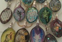 Κοσμήματα κουταλια γυαλι