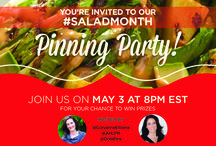 Salad Month Pinning Party / May is National Salad Month - As the world salad leader, we're celebrating the holiday by going beyond your traditional salad with unexpected fruit and vegetable combinations. Pin with us and win prizes on May 3rd at 8PM EST!
