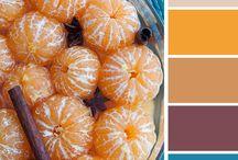 Inspiration - Colour Orange