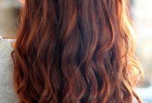 koppar hår