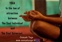 Samyak Yoga Quotes / Here you can find the quotes from Samyak Yoga / by Samyak Yoga