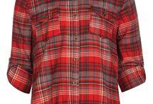 Girls's flannel shirts