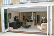 Flexibility / Bi-fold doors allow the maximum use of space and glide along aluminium top and bottom tracks using stainless steel rollers - making opening and closing effortless.