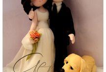 topper sposi porcellana fredda
