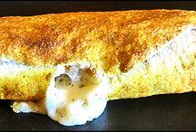 Receta/Recipe   Enrollado de Chistorra / Todas las recetas / All recipes http://elreceton.blogspot.com.es/