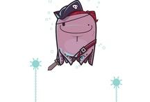 Personajes t-Art ;) / Muchos de los diseños de t-Art son simpáticos personajes! Elegí tu favorito :) / by t-Art