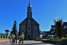 Passeios turísticos de bicicleta guiados- em Gramado