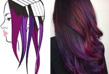 Hair colours..