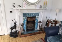 Fireplace Tiles, Arts and Crafts, Victorian, Pre-Raphaelite