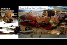 Italian food in Denver - www.denveruncovered.com / When it comes to knowing it all about Denver http://www.denveruncovered.com/ can be the best friend, from Italian food in Denver to tech scene, you can find it all here.