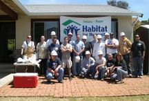 Habitat Home Builds / Our volunteers are committed to charity, giving and humanitarian shelter construction.  We make a difference by building affordable homes for deserving families in our community.