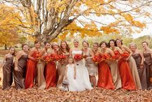Wedding - Autumn / For everything autumn...crisp leaves, cool nights, pumpkin pie. Did you know October in New England is the driest month of the year (less chance for rain on your wedding day!)?