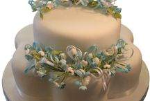 Sugar Flowers on Cakes / Sugar flowers on cakes for all kinds of celebrations