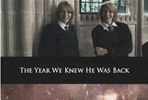 Gemelos weasley (Y los actores