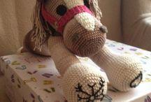 """Crochet horse"""" horgolt Ló"""