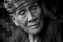 Oldest Villager / Traditional Old Villages Gallery Digital Editing Creativity (B&B) YokiZA'77©