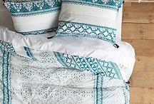 bedding, linen