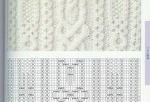 Knit patterns charts