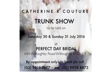 Events at Catherine R Couture / Trunk Show