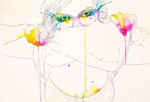 Art & Inspiration / 好きだな、と思うイラスト、ドローイング、コラージュ、インスタレーションたち。 / by Eiko