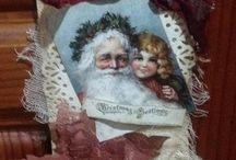 Christmas tags / Christmas tag