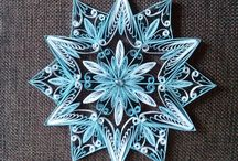 Quilling for Christmas