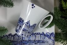 Hand-painted porcelain / Hand-painted porcelain available here: moodmoments.eu