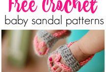 Crochet Kids Footwear