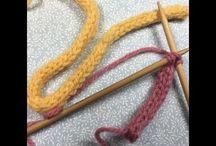 ひもの編み方